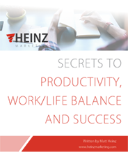 Secrets to Productivity, Work/Life Balance & Success