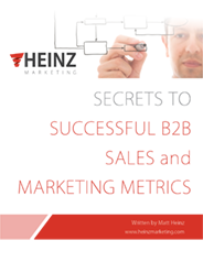 Secrets to Successful B2B Sales & Marketing Metrics