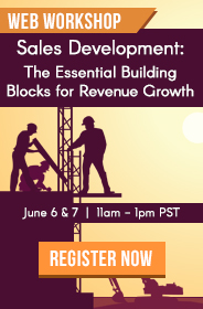 Modern Marketer's Workshop | Sales Development:  The Essential Building Blocks of Revenue Growth